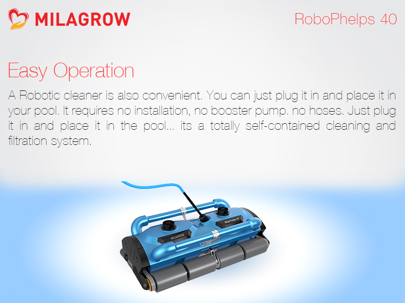 79535067c Milagrow Pool Cleaners Robot l RoboPhelps 40 - Milagrow Human Tech