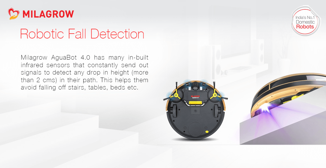 Robotic Fall Detection