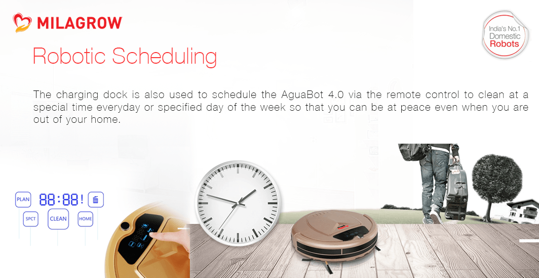 Robotic Scheduling